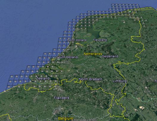 Vaklodingen Interpolated Dataset - OpenEarth - Deltares Public Wiki