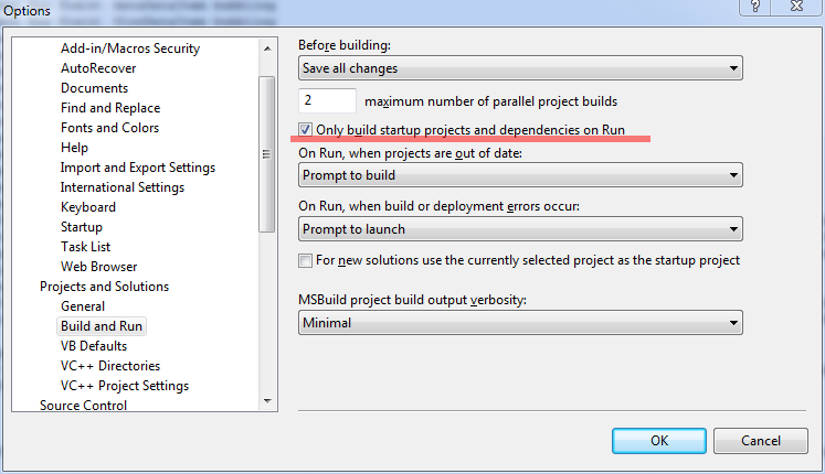 F5 option in Visual Studio 2008 - Delta Shell - Deltares