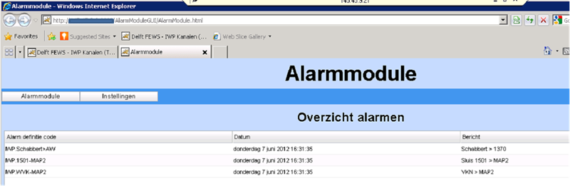 07 Setting up alerts for the Alarmmodule - DELFT-FEWS Documentation