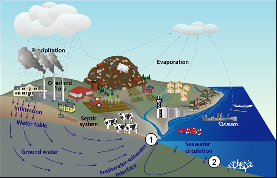 Analysis Of Submarine Groundwater Discharge To Manila Bay